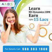 Best Offer for online MS Dynamics CRM Training at Aads Education