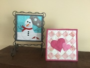 January and February itty bitty quilts