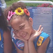 My little Daisy Girl Scout one more year to become a Brownie Girl Scout.