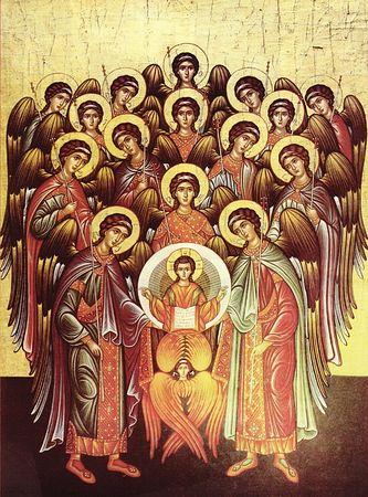მთავარანგელოზობა, mtavarangelozoba, წმინდათა ცხოვრება, თვენი, ნოემბერი, ქველი, qwelly, november