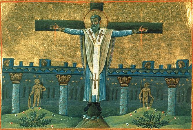 მღვდელმოწამე სვიმეონი, წმინდათა ცხოვრება, თვენი, მაისი, ქველი, qwelly, may