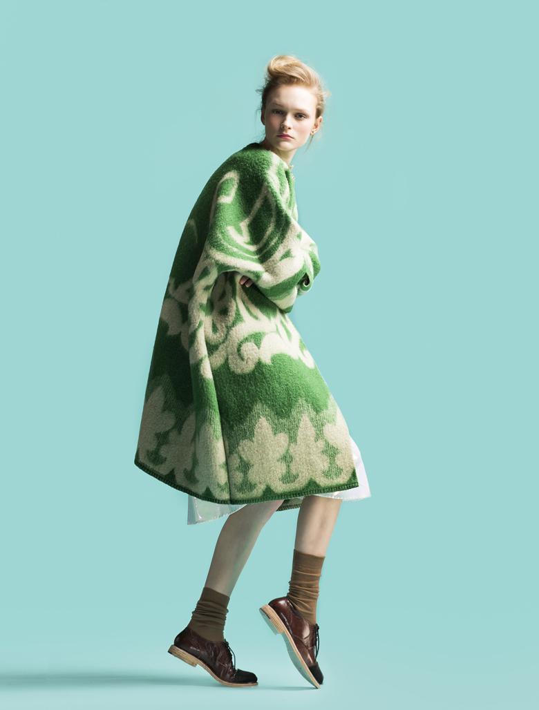 chatter, design, qwelly, გოგო, დიზაინერი, ზამთრი, კოლექცია, მარიტ ილისონი, მოდა, პალტო, პლედი, ჭორიკანა, Marit_Ilison