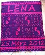 Krabbeldecke für Lena ♥