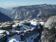 Summit of Half Dome - Election Day 2000