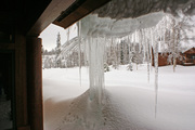Icicles on at McKinley