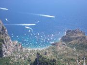 View from highest point on Capri
