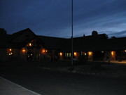 Dusk at the Lodge