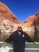 Relaxing on Lake Powell in 2014
