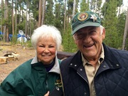 LOIS & DAVE CAMP HOSTS IN GRANT VILLAGE
