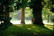 Walking in Finsbury Park