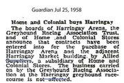 Home & Colonial Buys Harringay
