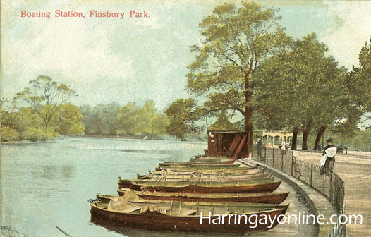 Boating Station in Finsbury Park