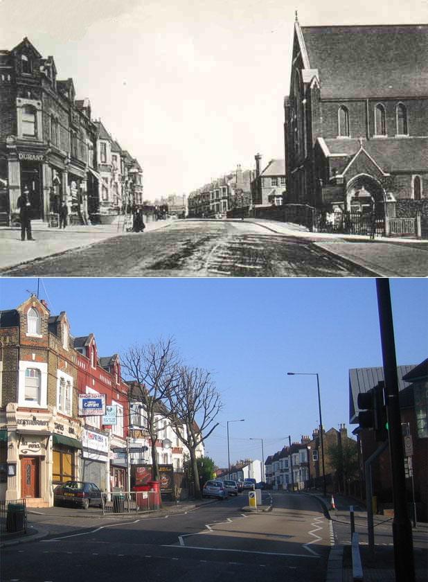 Wightman Road by St Paul's