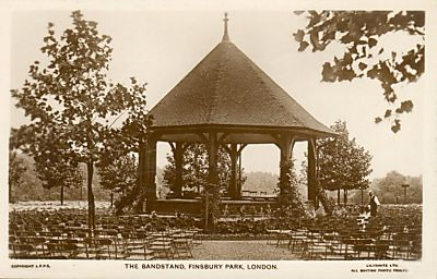 Bandstand, Finsbury Park