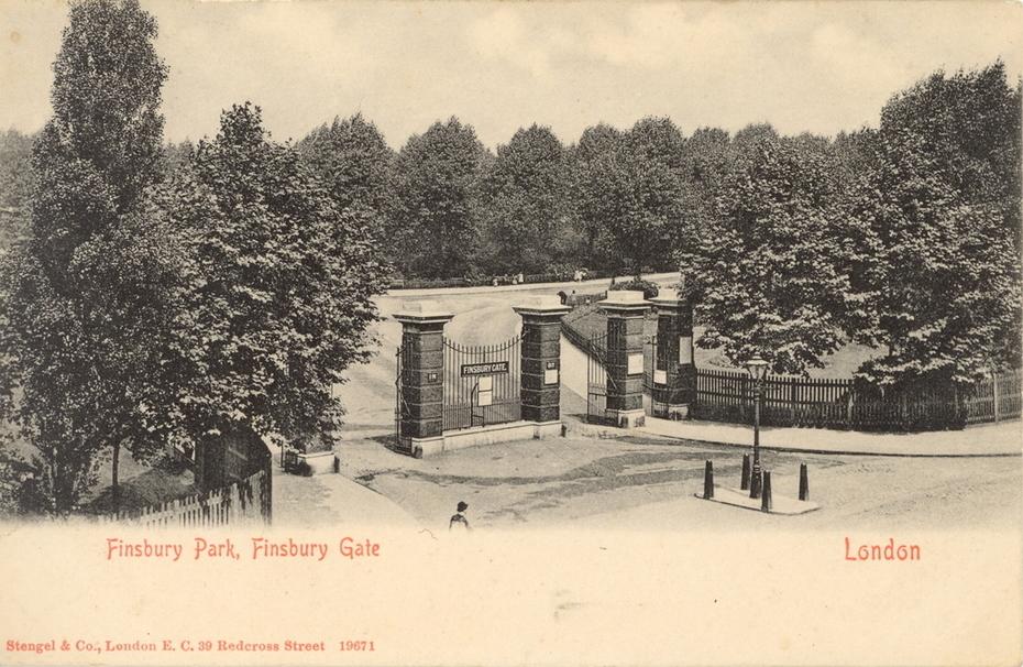 Finsbury Park gates