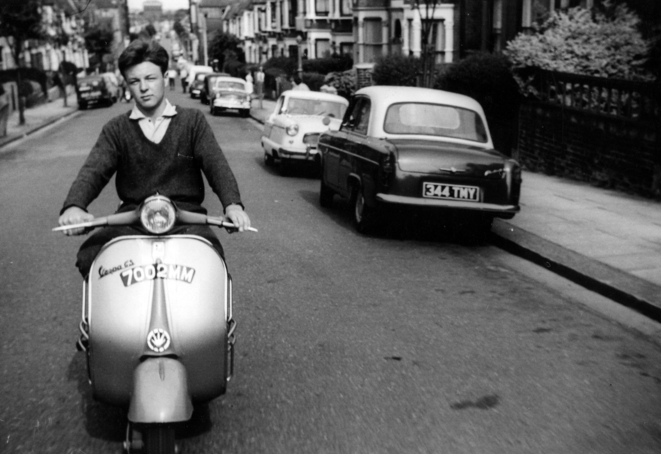 Scooters on Duckett Road 1962-3 | 1