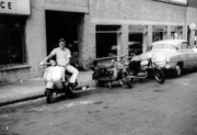 Scooters on Duckett Road outside Strand Motor Cycles, 1962-3 | 4