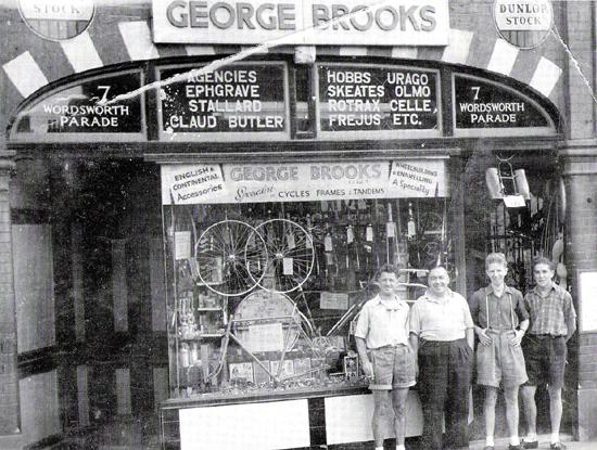 George Brooks' Bike Shop