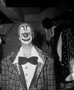 Winkles the clown at Harringay Circus, circa 1950