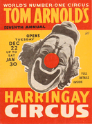 Poster for Seventh Harringay Circus