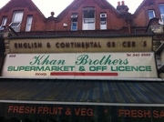 Another old shop sign, 655 Green Lanes