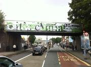 The New Harringay Bridge Banner