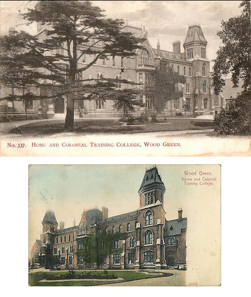 Exterior Home & Colonial Training College (Former occupants of Crown Court), Wood Green