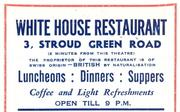 1944 ad for Restaurant