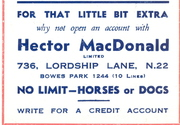 Turf Accountant - fancy a flutter 1944 ad