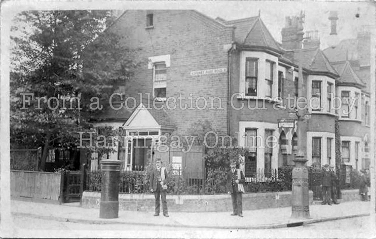 Turnpike Lane / Hornsey Park Road Junction circa 1905