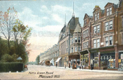 Muswell Hill before Sainsbury's and the Odeon.