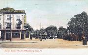 Manor House Crossroads circa 1910