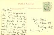 1906 Finsbury Park - Manor Gate pstcard rear