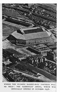 Aerial View of Arena, Stadium & Market, c1948
