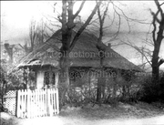 Thatched Lodge on Woodberry Down c1890