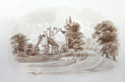 Hornsey Priory Road c1860
