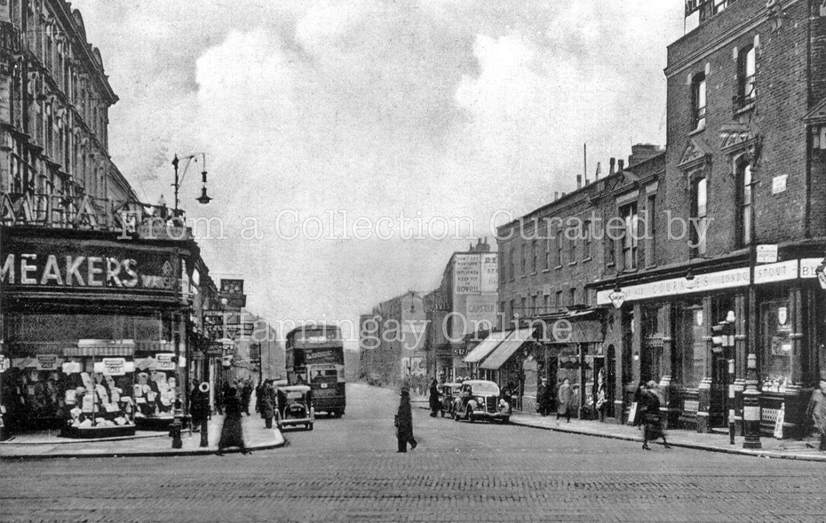 Blackstock Road, c1947