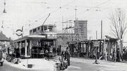 Turnpike Lane Tram Station Construction, 1934