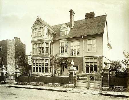 Wanganui, Hornsey Lane 1885