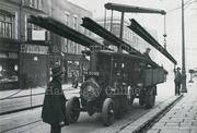 Tram Track Laying Vehicle, Lordship Lane, c1930