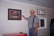 old fart in man cave