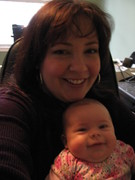 Me & my lovely chubbalicious baby