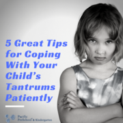 5 Great Tips for Coping With Your Child's Tantrums Patiently