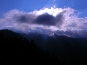 Clouds over the Smokies