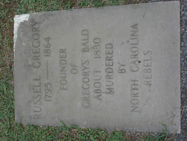 Russell Gregory Tombstone