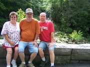 My mom and dad and myself...