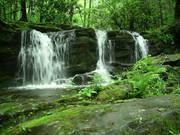 Bridges Streams and Waterfalls