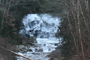 An icy Meigs Falls