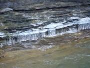 Icicles at Lamance Falls