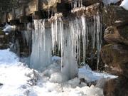 Ice at Mingus Mill
